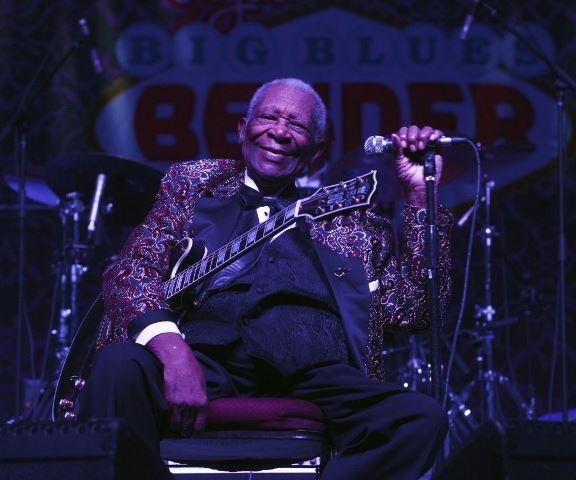 Muere la leyenda del blues B.B. King, a los 89 años