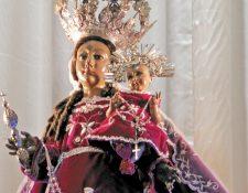 Se desconoce la procedencia exacta de la imagen, pero data de la colonia. (Foto Prensa Libre: Néstor Galicia)