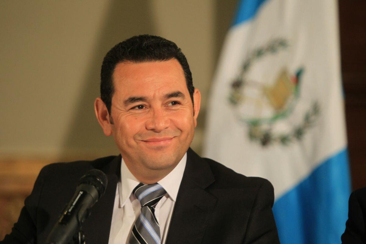 Jimmy Morales remarca prioridades en fase de transición
