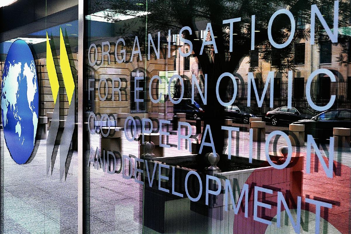 Crecimiento mundial será menor de lo esperado, según OCDE