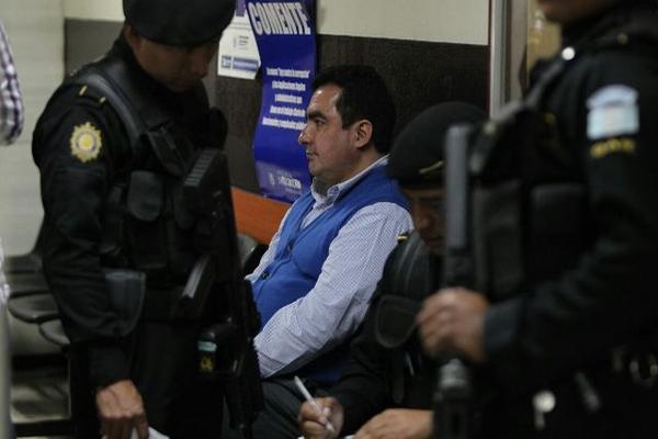 Abogado Vernon González Portillo, capturado en zona 1.