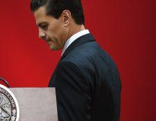 El presidente de México, Enrique Peña Nieto, hizo un llamado a debatir. (Foto Prensa Libre: AFP).