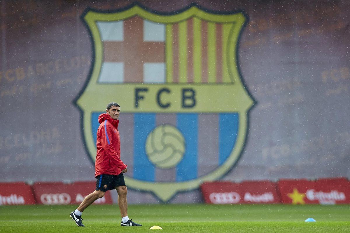 """Ernesto Valverde espera """"calma"""" y """"respeto"""" en el Camp Nou"""