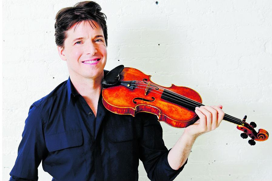 El destacado músico Joshua Bell apoya programas de educación musical para niños y jóvenes. (Foto Prensa Libre: cortesía Joshua Bell)