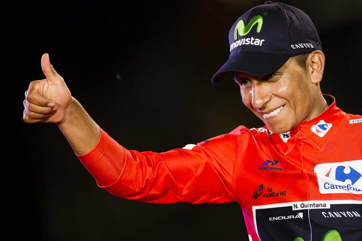 Nairo Quintana desea paz en Colombia