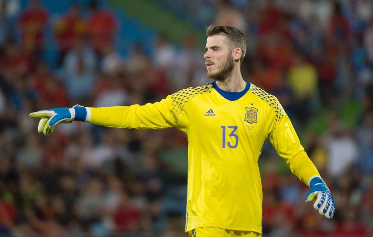 De Gea no sabe si será titular en la Eurocopa