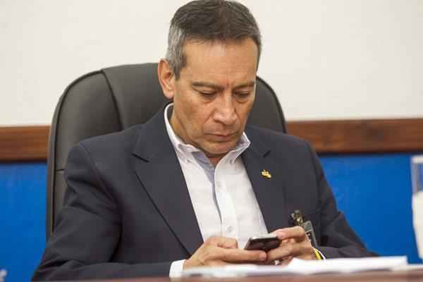 Alfredo Flores presidente de la Federación de Ciclismo de Guatemala, durante sus ocho años de gestión en esa disciplina fue muy cuestionado. (Foto Prensa Libre: Norvin Mendoza)