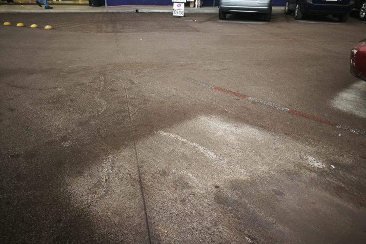Las personas han reportado la caída de ceniza en San Lucas desde las 12 del medio día.