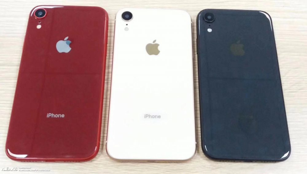 """Hay muchos rumores en la web sobre el """"iPhone barato"""". Algunos medios especializados han conseguido esta imagen del dispositivo y han adelantado que el nombre podría ser CX o XR. (Foto Prensa Libre: Leaks)."""