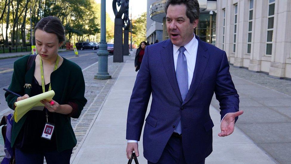 """Jeffrey Lichtman es uno de los abogados de """"El Chapo"""". REUTERS"""