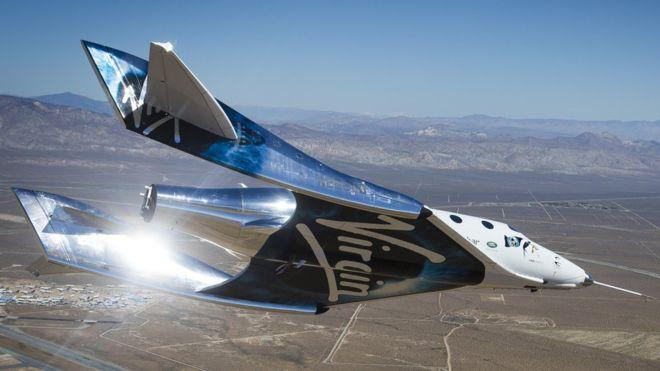 Virgin Galactic le apuesta a llevar turistas al espacio. VIRGIN GALACTIC/OLIVER OUYANG