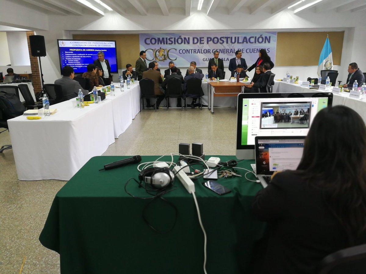 Comisión para contralor general expulsa a 13 postulantes
