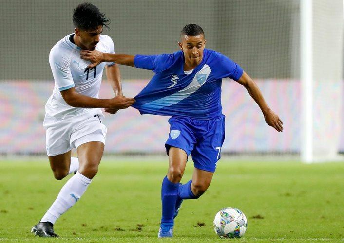 La Selección de Guatemala sufrió una de las derrotas más grandes de sus historia en noviembre de 2018 7-0 contra Israel. (Foto Prensa Libre: Hemeroteca PL)
