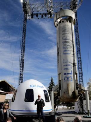 Jeff Bezos, fundador de Amazon, también quiere llegar al espacio. REUTERS