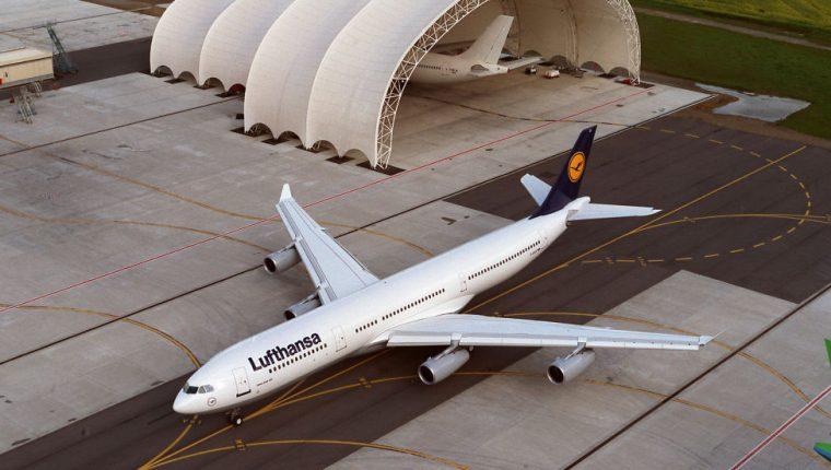Foto ilustrativa de un Airbus A340-300 de Lufthansa (Foto tomada del sitioDeutsche Lufthansa AG)