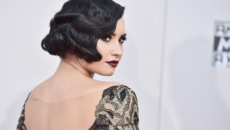 Demi Lovato se encuentra de gira por Europa y América. Su más reciente tema ya acumula más de 2.5 millones de reproducciones. (Foto Prensa Libre: AFP).