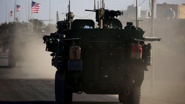 Las primeras tropas terrestres estadounidenses llegaron a Siria en 2015. AFP