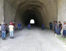 La PDH visitó el área de la Hidroeléctrica Chixoy en donde se encontraban los manifestantes la semana pasada. (Foto, Prensa Libre: Twitter PDH)