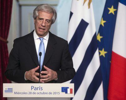 Tabaré Vásquez, expresidente de Uruguay. (Foto Prensa Libre: EFE).