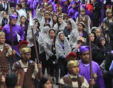 El interés por conmemorar la cuaresma se mantiene, asegura folklorista.(Foto Prensa Libre: Hemeroteca PL)