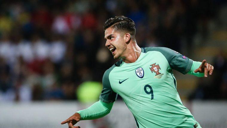 André Silva está jugando con Portugal en las eliminatorias rumbo a Rusia 2018. (Foto Prensa Libre: EFE)