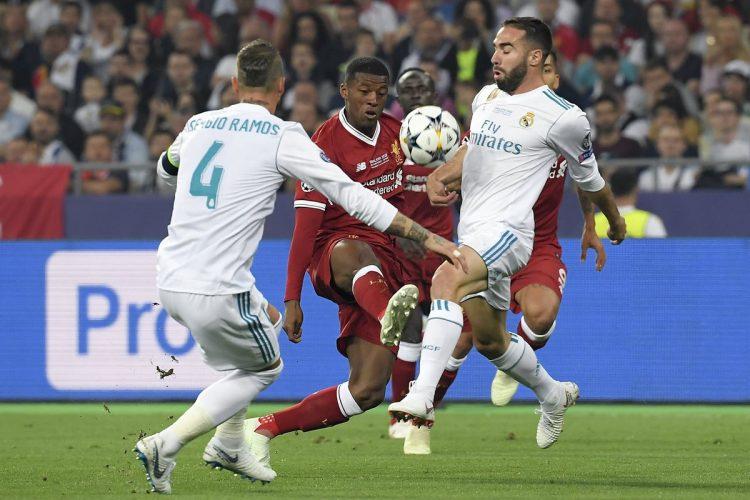 La final entre el Liverpool y el Real Madrid fue intenso.