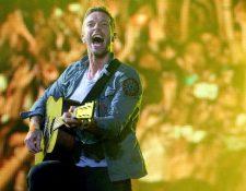 Coldplay será la banda del medio tiempo. (Foto Prensa Libre: EFE)