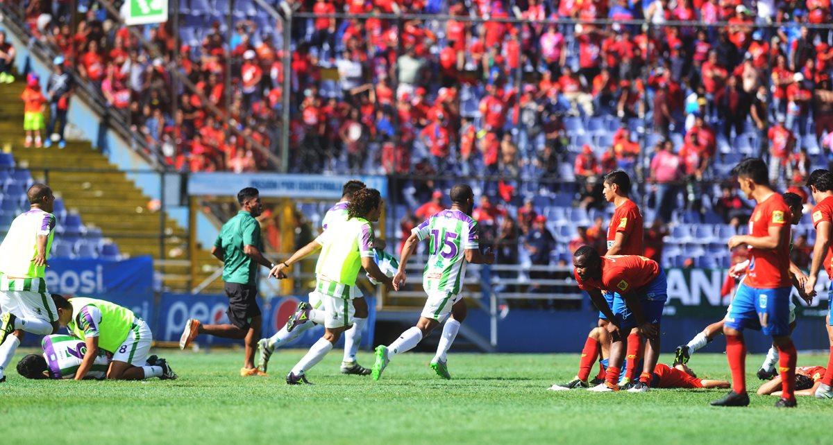 Municipal pide que se repita la final contra Antigua GFC