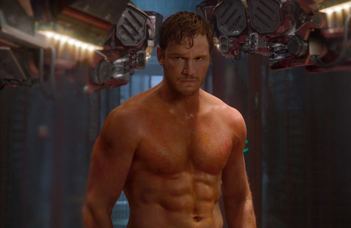 Chris Pratt cumplió con una rutina estricta para tener un cuerpo tonificado. ¿Como lo hizo? (Foto Prensa Libre: Marvel Studios).