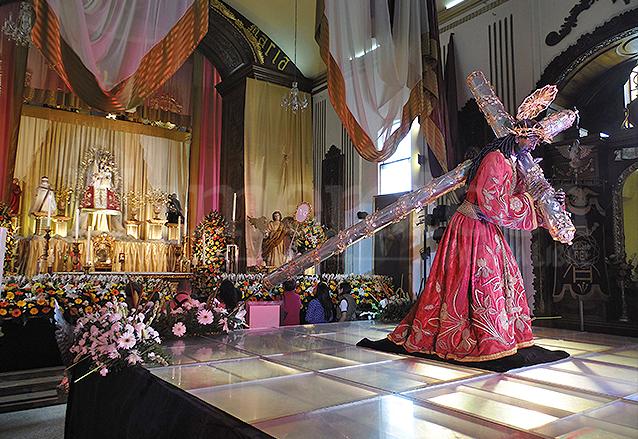 Jesús de Candelaria cumple este 3 de febrero, cien años de haber sido consagrado. (Foto: Néstor Galicia)