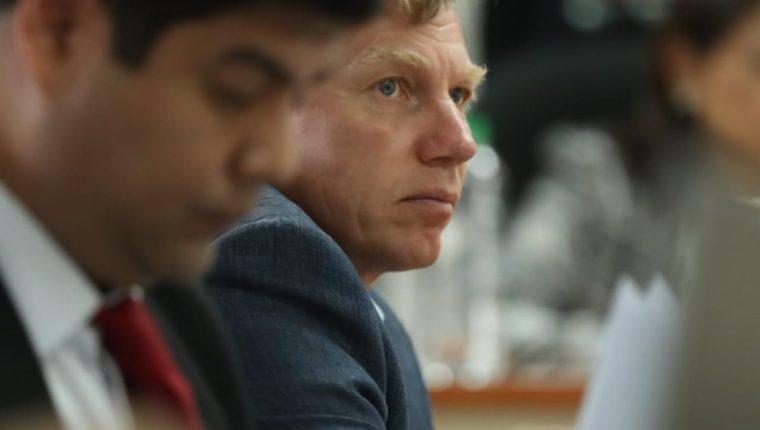 El ciudadano ruso el Igor Vladimirovich Bitkov enfrenta juicio por el caso Migración. (Foto Prensa Libre: Esbin García)
