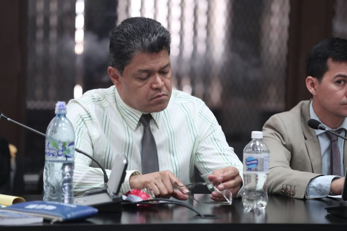Raúl Osoy Penados fue ligado a proceso penal por cuatro delitos. (Foto Prensa Libre: Juan Diego González)