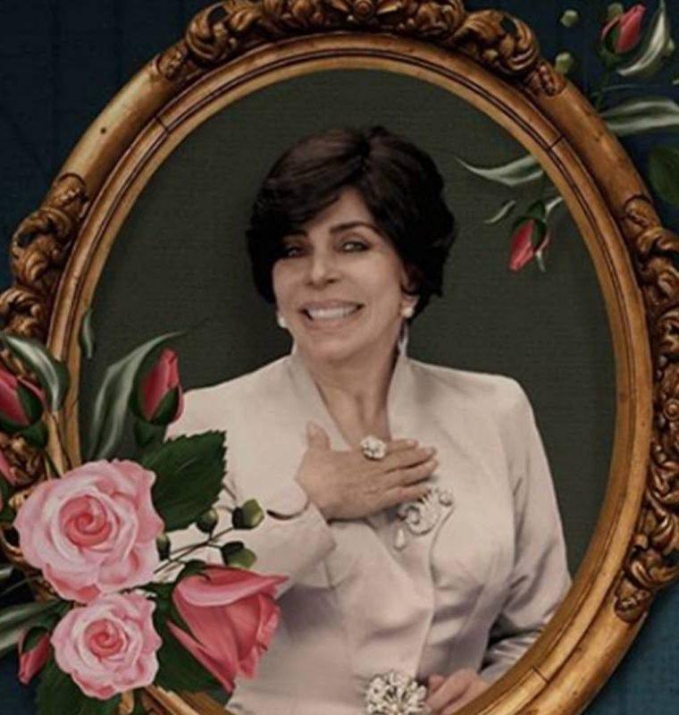 """Verónica Castro interpreta a Virginia de la Mora en La Casa de las Flores,  un personaje opuesto a los que interpretó en telenovelas como """"Rosa Salvaje"""" y """"Los ricos también lloran"""".  (Foto: Netflix)."""