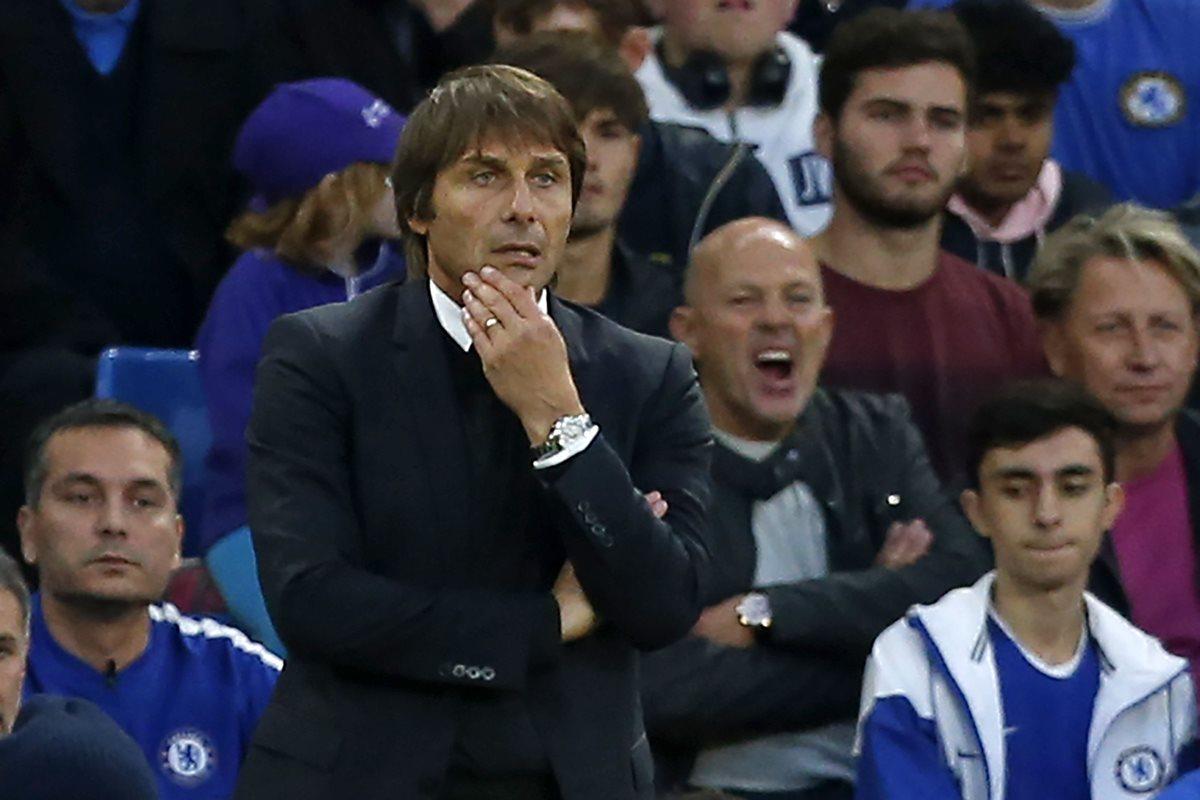 Antonio Conte no cree conveniente que Morata juegue con su Selección por una lesión. (Foto Prensa Libre: AFP)
