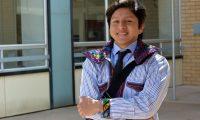 """Oswaldo Martín, es un migrante que trabaja como traductor de mam en la corte de inmigración de Oakland. (Foto Prensa Libre: <span class=""""credit"""">Marisol Medina-Cadena</span> / <span class=""""agency"""">KALW News)</span>"""