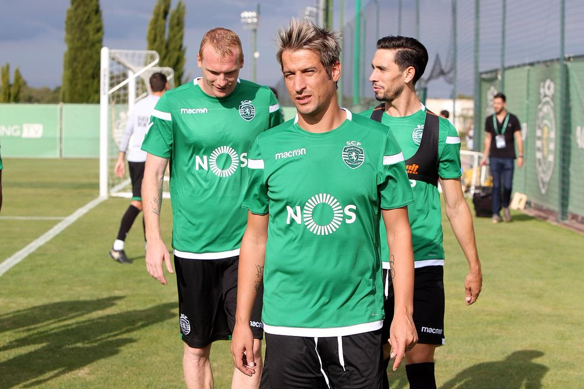 Fabio Coentrao ya se entrenó con el Sporting de Lisboa. (Foto Prensa Libre: Twitter)