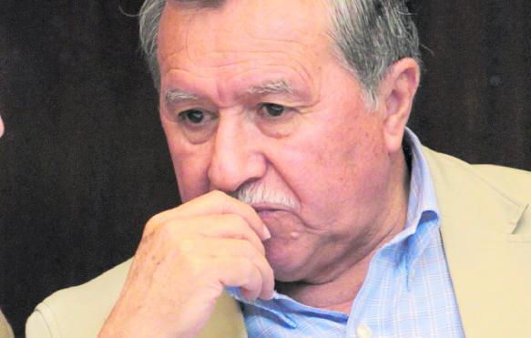 Édgar Ovalle, es fundador del partido oficialista FCN-Nación. (Foto Prensa Libre: Hemeroteca PL)