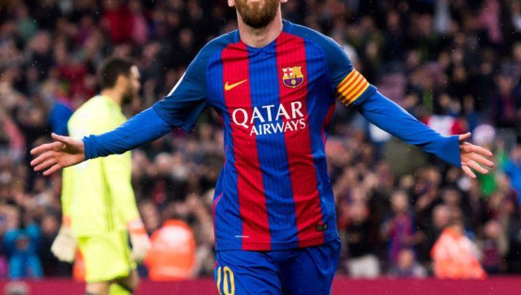 Messi es el ídolo de muchos fanáticos y admirado por futbolistas de todo el mundo. (Foto Prensa Libre: Getty Images)