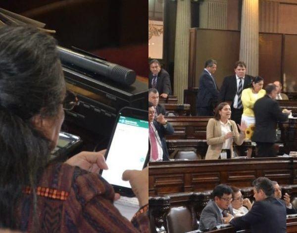 La diputada Sandra Morán hizo una publicación en Facebook que molestó a su colega Patricia Sandoval. (Foto Prensa Libre: Cortesía José Castro).