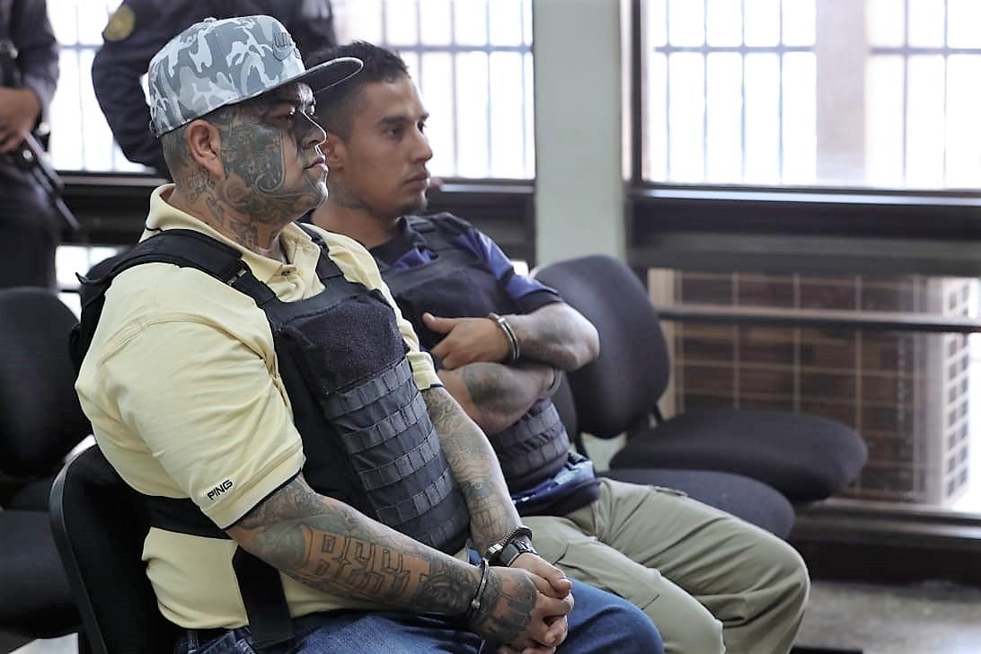 El Abuelo testificó contra 23 pandilleros, quienes serían los cabecillas del Barrio 18 en Guatemala. (Foto Prensa Libre: Estuardo Paredes)