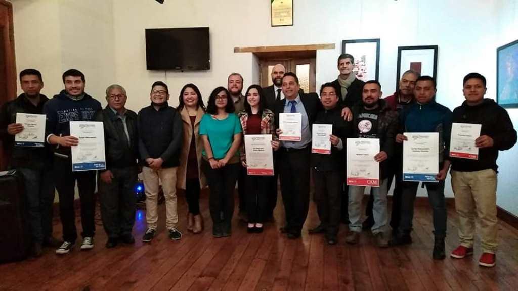 Premian a los ganadores del Certamen Nacional de Pintura Arturo Martínez 2018