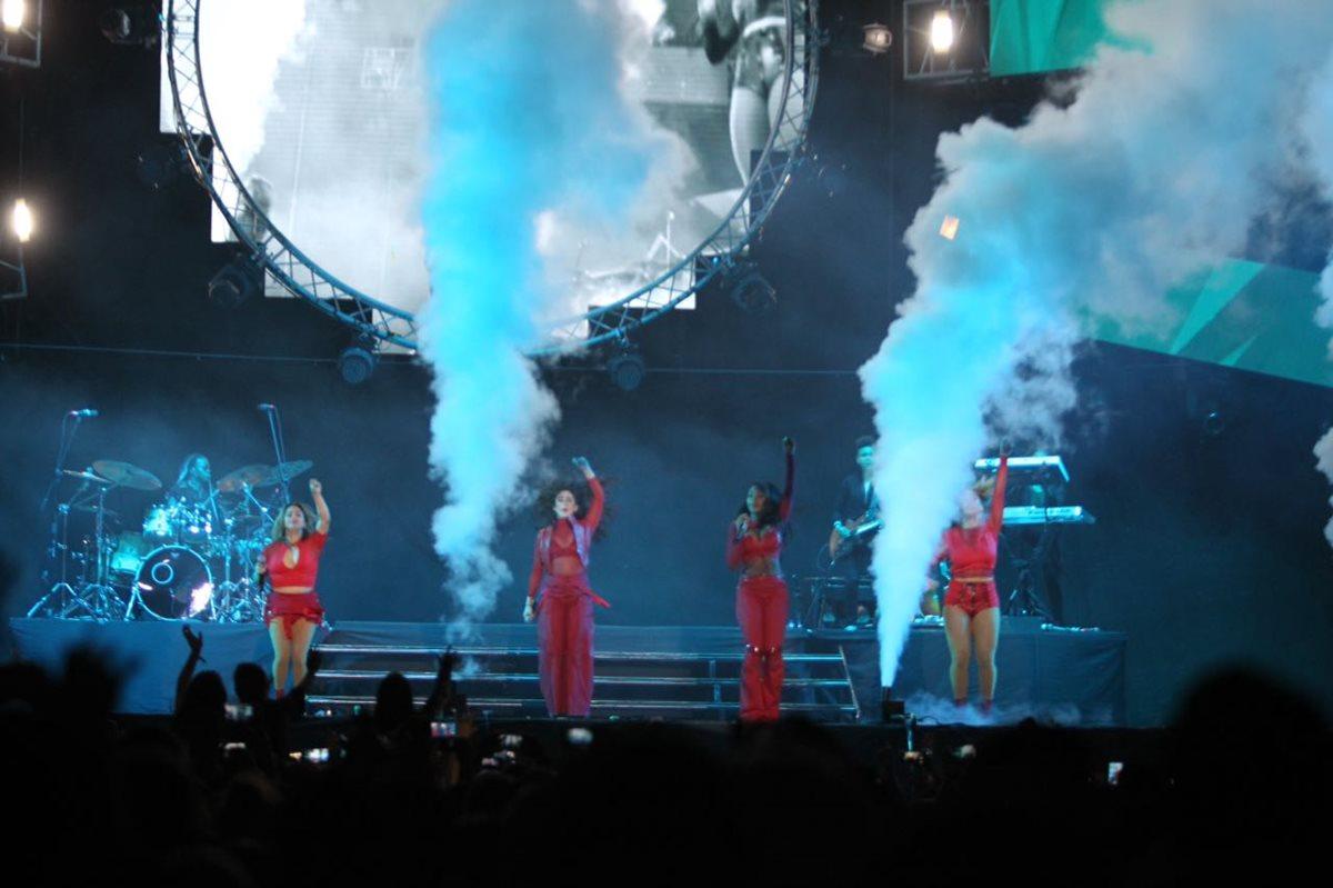 El cuarteto estadounidense Fifth Harmony sedujo a sus fanes