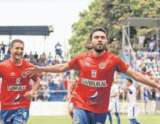Carlos Kamiani Félix uno de los mexicanos con éxito en el futbol guatemalteco. (Foto Prensa Libre: Hemeroteca PL)