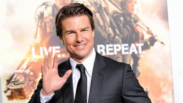 Tom Cruise es uno de los galanes de Hollywood, de las décadas de 1980 y 1990. (Foto Prensa Libre: AP)