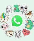 Ahora WhatsApp también tiene stickers. WHATSAPP WEB