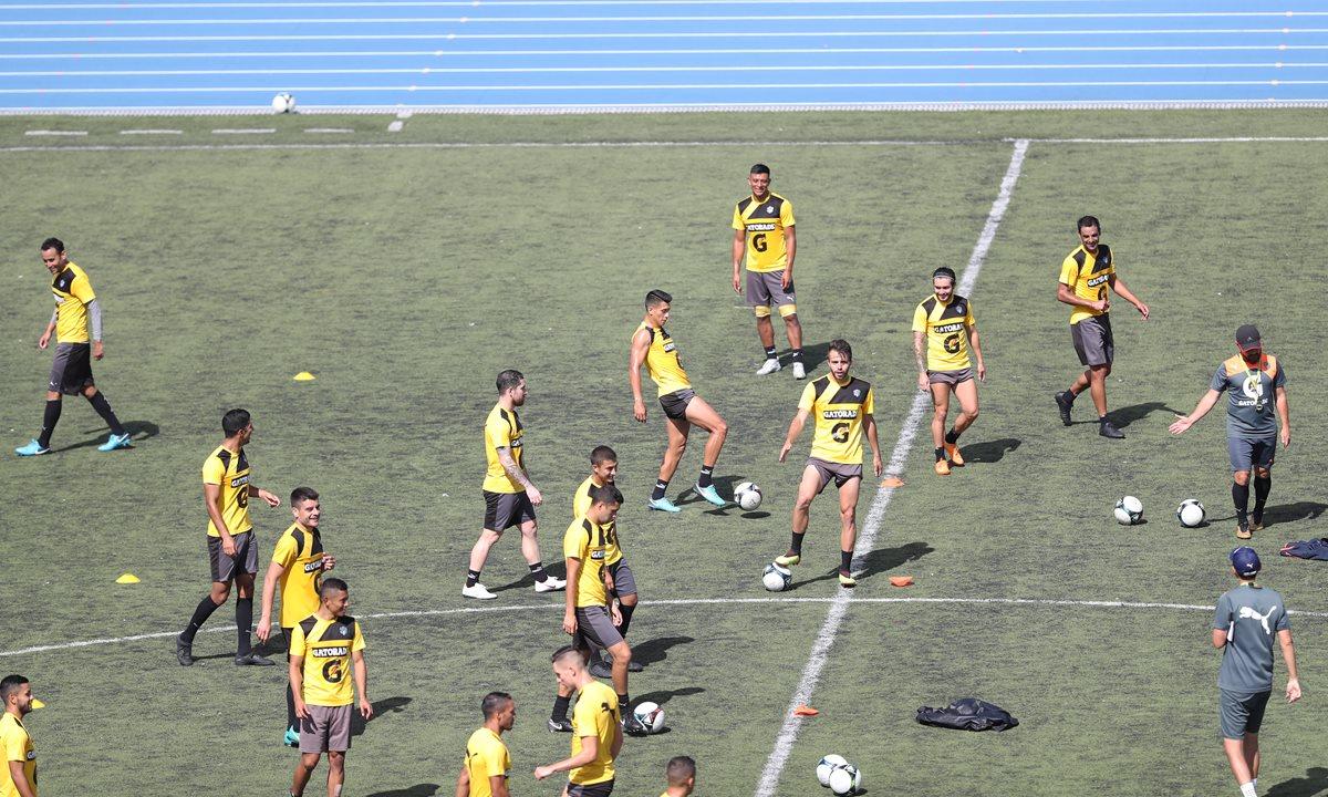 Comunicaciones llega al Clásico 303 como el equipo más regular del Apertura 2018. (Foto Prensa Libre: Francisco Sánchez)