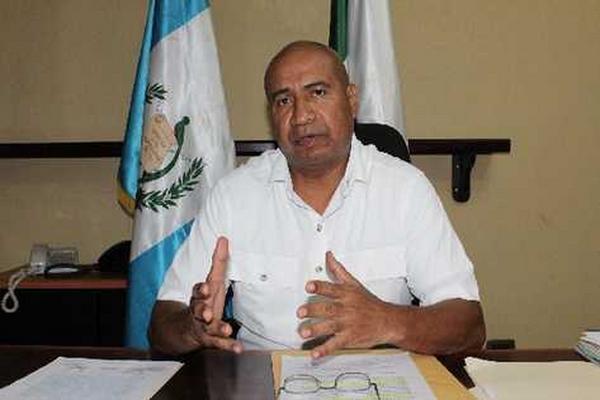 Lewis Logan es gobernador de Escuintla desde marzo de 2012. (Foto Prensa Libre: Archivo)