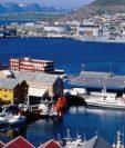 Hammerfest se ubica 500 kilómetros dentro del Círculo Polar Ártico. (Crédito de la foto: Craig Pershouse)