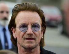 Bono se vio obligado a cancelar el concierto del pasado 1 de septiembre en Berlín luego de que perdiera su voz. (Foto Prensa Libre: AFP).