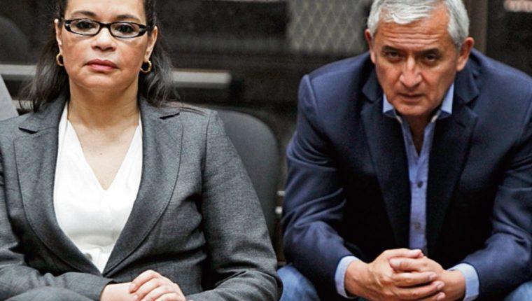 Otto Pérez Molina y Roxana Baldetti, encabezan el listado de funcionarios capturados.